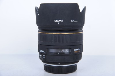 95新二手Sigma适马 30/1.4 HSM 定焦镜头奥林巴斯口(B0071)京