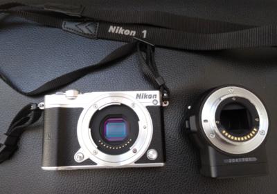尼康 1 J5+FT1+2电池+32G快卡