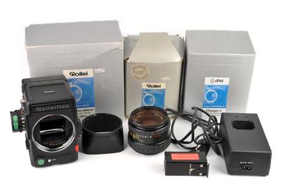 Rolleiflex/禄来 6008AF+AF-Xenotar80/2.8镜头套装#32902