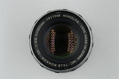美能达MD口 MC 100mm f3.5,手动镜头