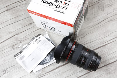 个人出售98新佳能 EF 17-40mm f/4L USM