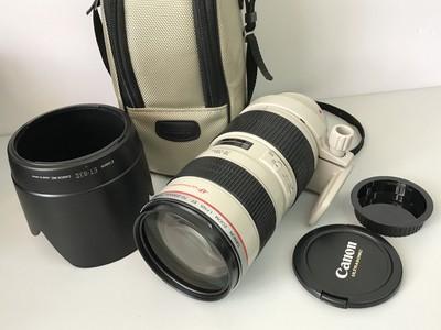 佳能 EF 70-200mm f/2.8L USM(小白) 3141#  【天津福润相机】