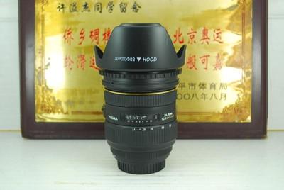 佳能口 适马 24-70 F2.8 HSM 三代 镜头 全幅恒圈挂机 可置换