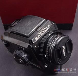BRONICA 勃朗尼卡 S2+75/2.8 75mm F2.8 黑色 稀少
