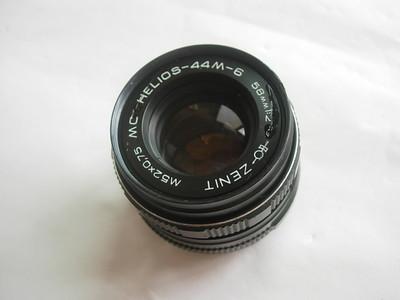 俄罗斯泽尼特58mmf2镜头,锣口,可配各种数码相机