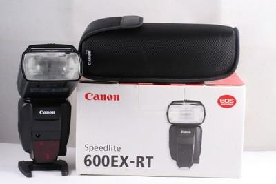 95新 佳能 CANON 600EX-RT 闪光灯 带包装 600EX 闪灯
