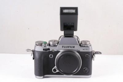 95/富士 X-T1 单机 微单相机 碳晶灰限量版 ( 全套包装 )