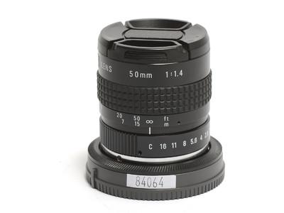 理光/Ricoh 50mm F/1.4 C卡口镜头   已改索尼E/NEX卡口 *如新*
