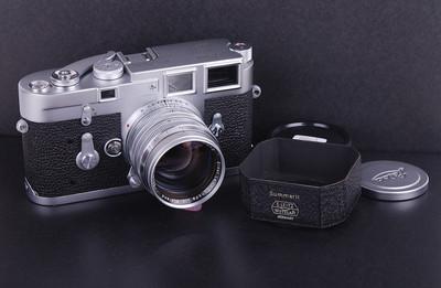 【加产收藏珍品】Leica/徕卡M3限量单拨机身带M 50/1.5镜#32808