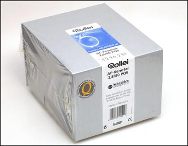 禄莱/施耐德 Rollei/Schneider AF 80/2.8 PQS AF-Xenotar 新品