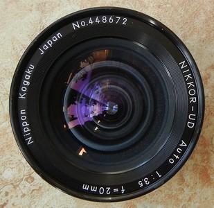 尼康20 3.5 AI口手动镜头 全幅