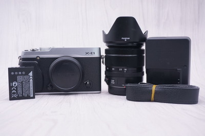 93新富士 X-E1+95新富士18-55镜头套机