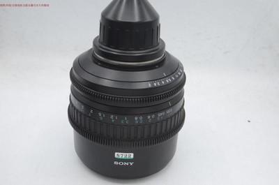 原装索尼PMW-F3 F5 35mm 50mm 85mm PL口电影镜头 编号8722