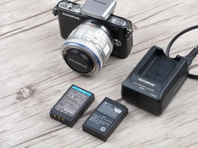 个人出售98新奥林巴斯 E-PL3套机微单相机