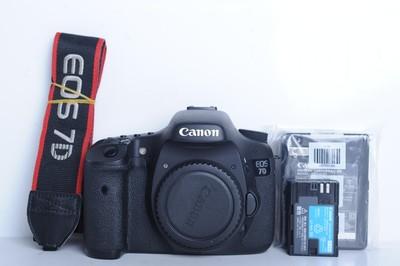 95新二手 Canon佳能 7D 单机 中端单反相机(B6055)【京】