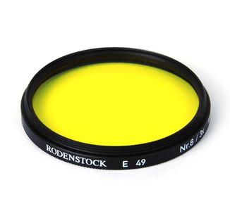 【美品】RODENSTOCK/罗敦司德 Nr.8/3x E49黄色滤镜 #04609