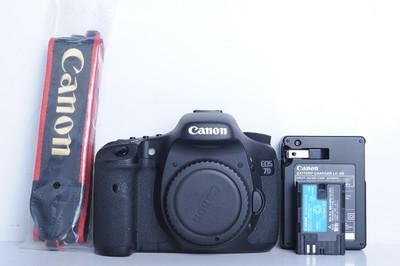 97新二手 Canon佳能 7D 单机 中端单反相机(B6058)【京】