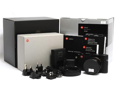 徕卡 X (Typ 113) 数码相机 黑色 带23mm ASPH.镜头 *如新连盒*