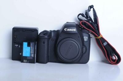 96新二手Canon千亿国际娱乐官网首页 6D 单机 高端单反相机(B6076)【武】