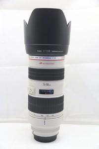 96新二手Canon佳能 70-200/2.8 L 小白变焦镜头(1479)【深】