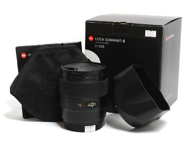 徕卡/Leica Summarit-S 70mm F/2.5 ASPH.镜头11055 *如新连盒*