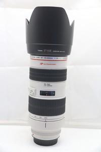 95新二手Canon佳能 70-200/2.8 L 小白变焦镜头(1480)【深】