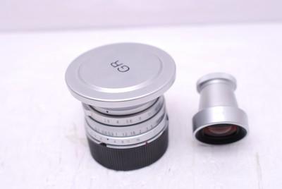 理光 28 mm F2.8 28/2.8 GR 徕卡M口 理光28/2.8 带原厂取景器