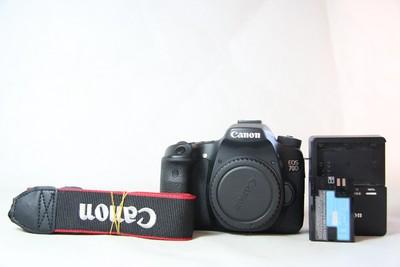 94新二手 Canon佳能 70D 单机 中端单反相机(T06459)【津】