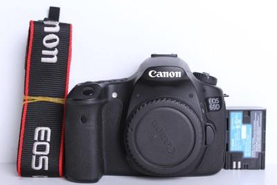 96新二手Canon佳能 60D 单机 中端单反相机(B6111)【京】