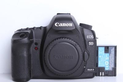 92新二手Canon佳能 5D2 单机 无敌兔 高端相机(B6114)【京】