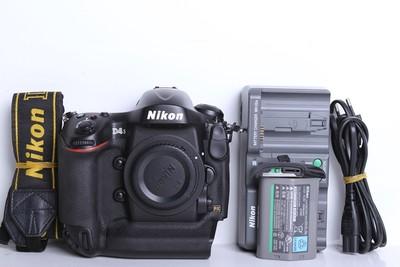 97新二手Nikon尼康 D4s 单机 快门16700多次 (B6098)【京】