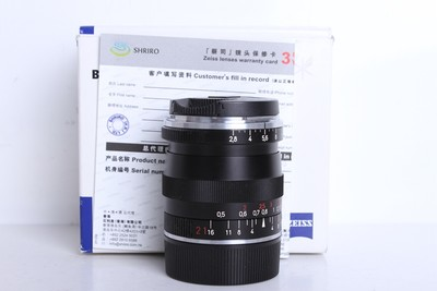 95新二手Carl Zeiss卡尔·蔡司BiogonT*21/2.8 ZM 徕卡M口 B6135京