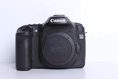 95新二手 Canon佳能 40D 单机 入门单反相机(B6115)【京】