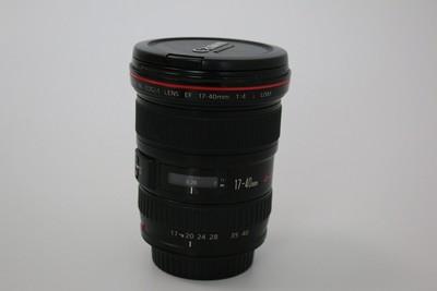 95新二手 Canon佳能 17-40/4 L USM 广角镜头(W07470)【武】