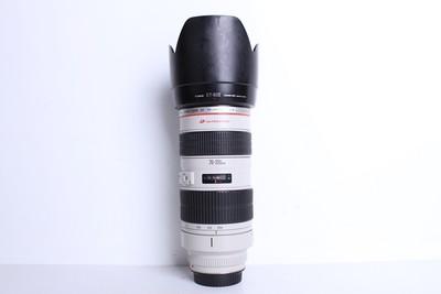 95新二手Canon佳能 70-200/2.8 L 小白变焦镜头(B6081)【京】