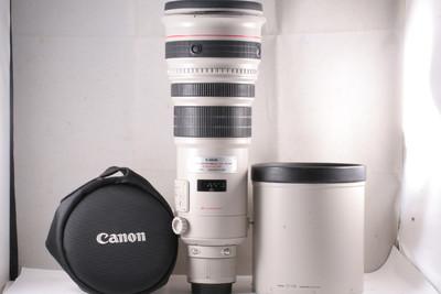 96/佳能 EF 500/4L IS USM 一代 (皮套镜头盖.胶箱全套) 编号UX