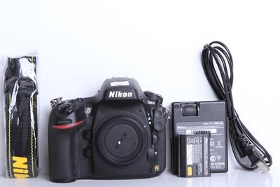98新二手Nikon尼康 D800 单机 快门3600多次(B6101)【京】