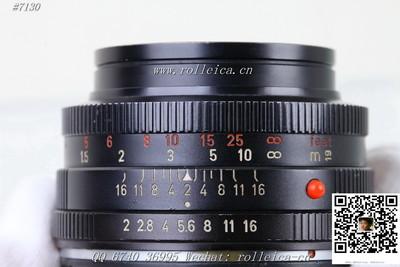 (7130) 【红字】Summicron-R 50 f2 罕有铭镜!¥3200
