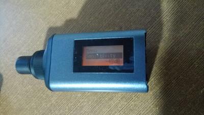 森海塞尔SKP100G3无线手持发射端 有线麦克风变无线话筒