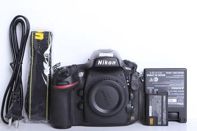 98新二手Nikon尼康 D800E 单机 快门5600多次(B6102)【京】