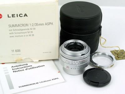 徕卡 Leica Summcron-M 35/2 Asph M39 银色限量版