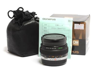 奥林巴斯/Olympus Auto-W 18mm F/3.5   镜头 *超美品*