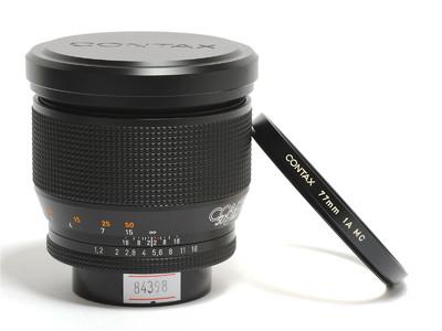 康泰时/Contax Planar 85mm F/1.2   AEG 镜头 50週年版 *如新*