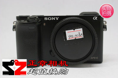 95新 黑色 Sony 索尼 ILCE-6000 A6000微单相机 a6000