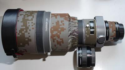 宾得口腾龙AF300 F2.8