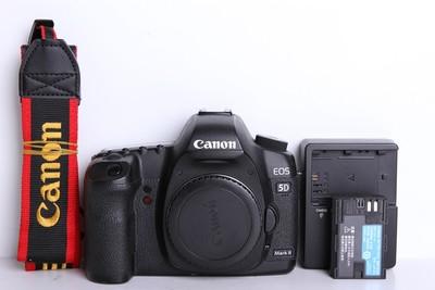 90新二手Canon佳能 5D2 单机 无敌兔 高端相机(B6138)【京】