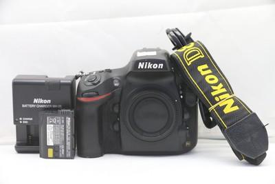 94新二手Nikon尼康 D800 单机 快门16700多次(1453)【深】