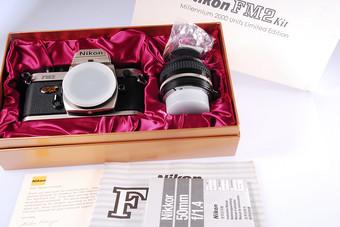 伟德亚洲官网_全新Nikon 尼康 FM2 +50/1.4 2000年龙年