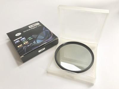 正品max 77mm口径多层镀膜二手cpl偏正镜
