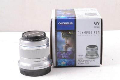 98/奥林巴斯 M.ZUIKO DIGITAL 45mm f/1.8( 带包装 )